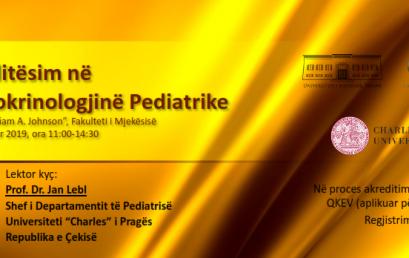 """Fotografi të aktivitetit """"Përditësime në Endokrinologjinë Pediatrike"""""""
