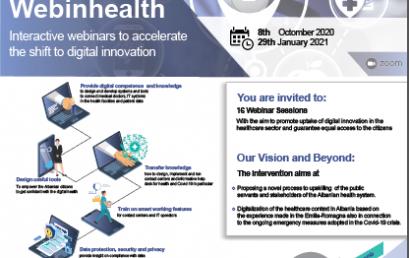Vijoni të ndiqni webinhealth në proces akreditimi në datat 11, 18, 25 dhe 29 Janar 2021.